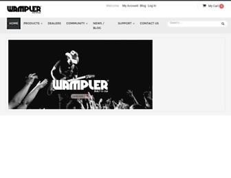 wamplerpedals.com screenshot