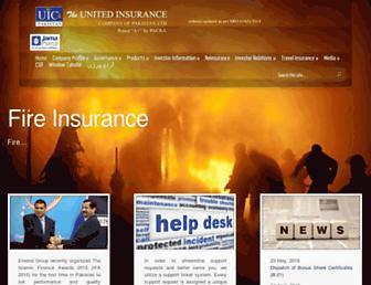 theunitedinsurance.com screenshot