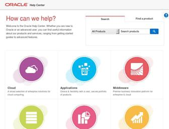 docs.oracle.com screenshot