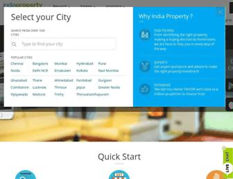 Thumbshot of Indiaproperty.com