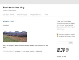 blog.futtta.be screenshot