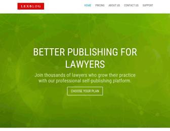 Thumbshot of Lexblog.com