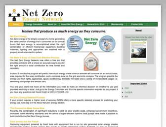 Main page screenshot of nzen.info