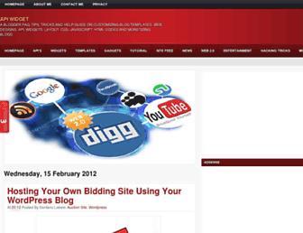 widgetapi.blogspot.com screenshot