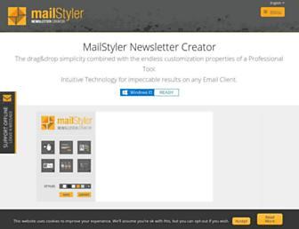 newslettercreator.com screenshot