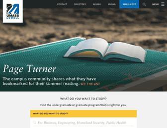 Thumbshot of Uml.edu