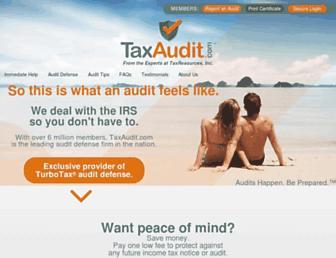 Thumbshot of Taxaudit.com