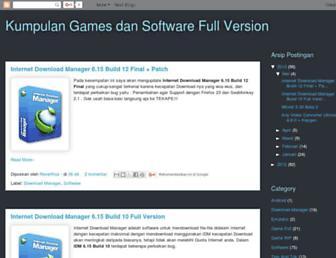 arifsoftgames.blogspot.com screenshot