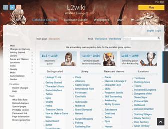 l2wiki.com screenshot