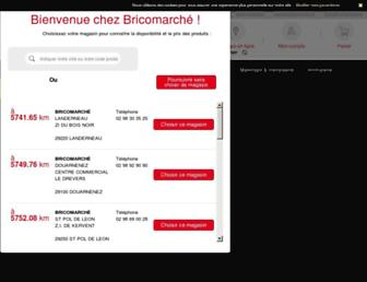 bricomarche.com screenshot