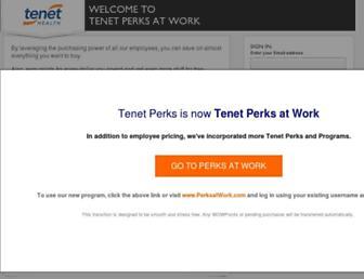 tenet.corporateperks.com screenshot