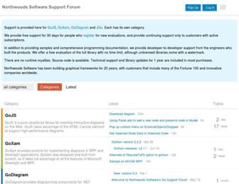 forum.nwoods.com screenshot