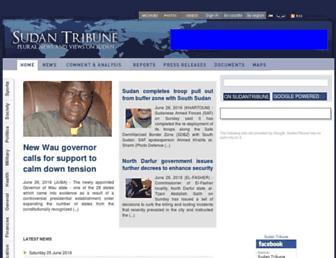 Thumbshot of Sudantribune.com