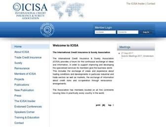 icisa.org screenshot