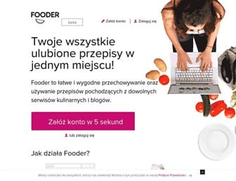 fooder.pl screenshot