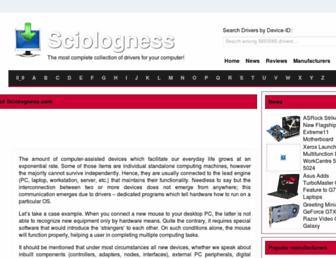 sciologness.com screenshot
