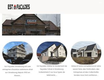 estfacades.fr screenshot
