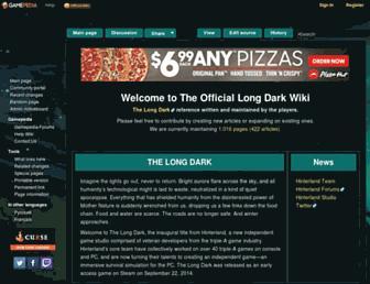 thelongdark.gamepedia.com screenshot