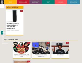 Thumbshot of Raspberrypi.org