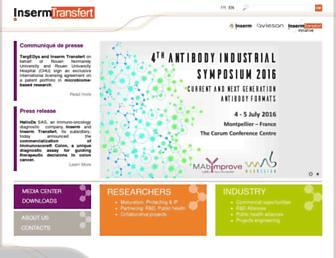inserm-transfert.fr screenshot