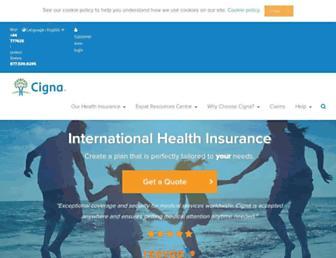 Thumbshot of Cignaglobal.com
