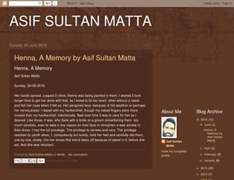 asifsultanmatta.blogspot.com screenshot