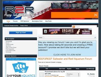Thumbshot of Reef2reef.com
