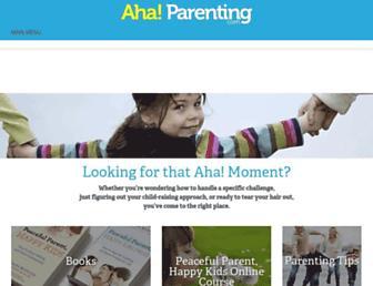 Thumbshot of Ahaparenting.com