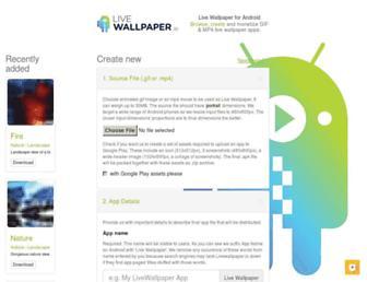 livewallpaper.io screenshot