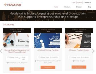 Thumbshot of Headstart.in