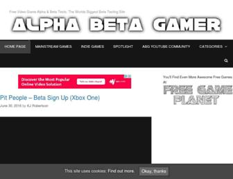 Thumbshot of Alphabetagamer.com
