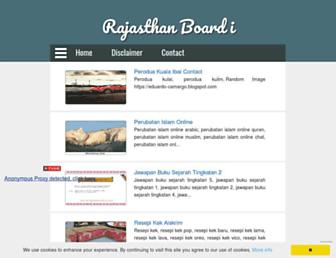 rajasthanboardi.blogspot.com screenshot