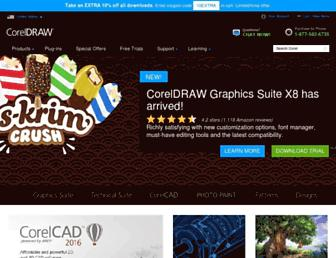 coreldraw.com screenshot