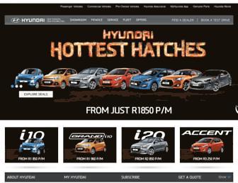 Thumbshot of Hyundai.co.za