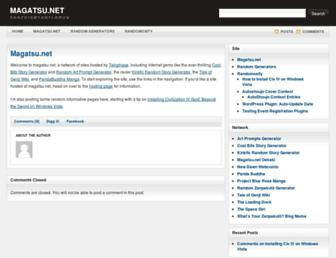 magatsu.net screenshot