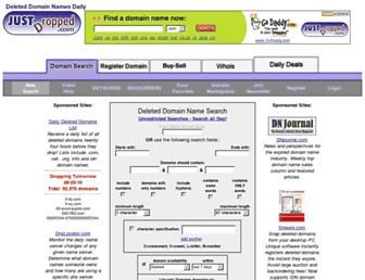 Thumbshot of Justdropped.com