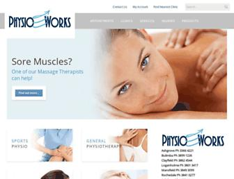 Thumbshot of Physioworks.com.au