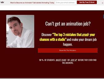 rustyanimator.com screenshot