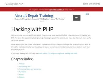 hackingwithphp.com screenshot