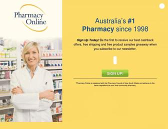 Thumbshot of Pharmacyonline.com.au