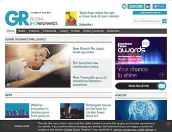 globalreinsurance.com screenshot