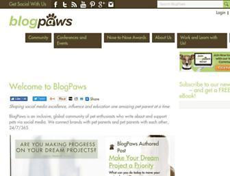 blogpaws.com screenshot