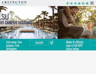 liveatarlington.com screenshot