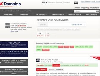 Thumbshot of Fxdomains.com