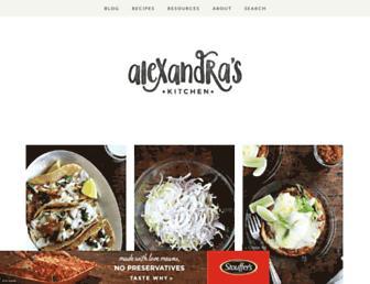 Thumbshot of Alexandracooks.com