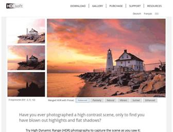 Thumbshot of Hdrsoft.com
