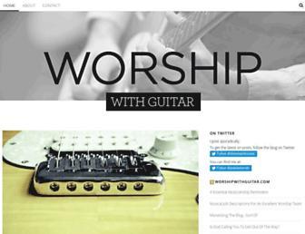 worshipwithguitar.com screenshot