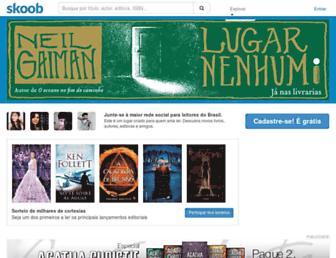 Thumbshot of Skoob.com.br