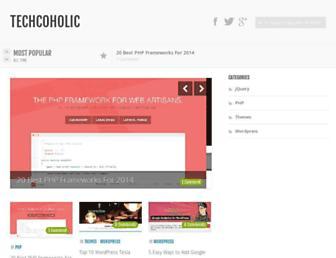 techcoholic.com screenshot