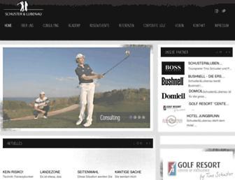 Main page screenshot of schuster-lubenau.de